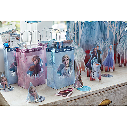 Clip-On Frozen 2 Keychains 8ct Image #2