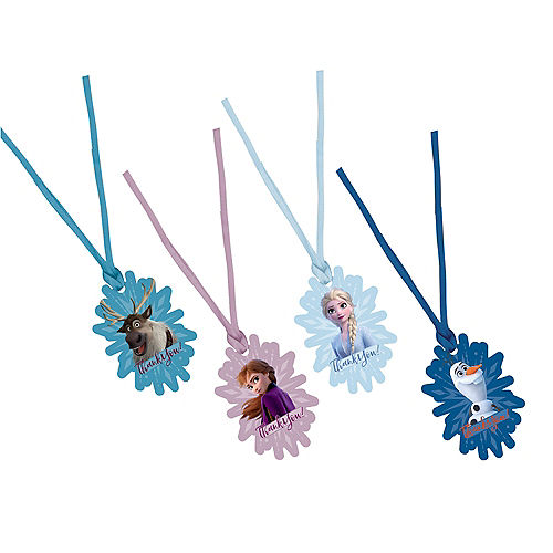 Frozen 2 Thank You Tags 8ct Image #1