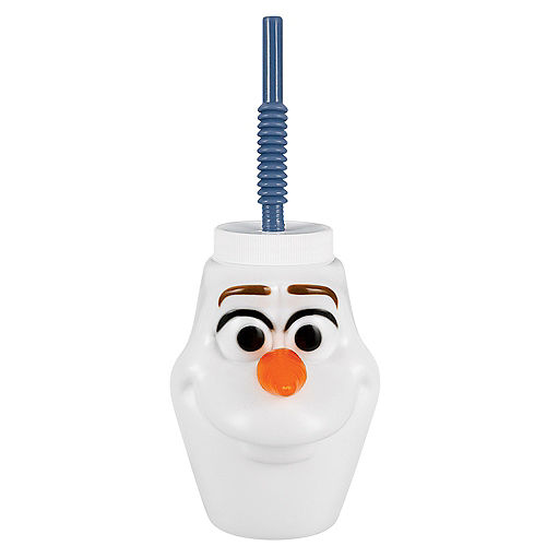 Olaf Cup with Straw - Frozen 2 Image #1