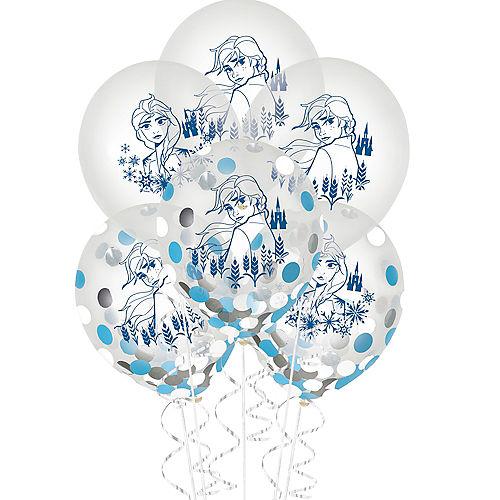 Frozen 2 Confetti Balloons 6ct Image #1