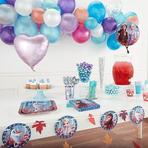 Frozen 2 Confetti Balloons 6ct Image #2