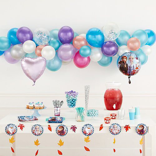 Frozen 2 Confetti Balloons 6ct Image #3