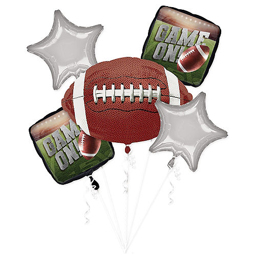 Go Fight Win Balloon Bouquet 5pc Image #1