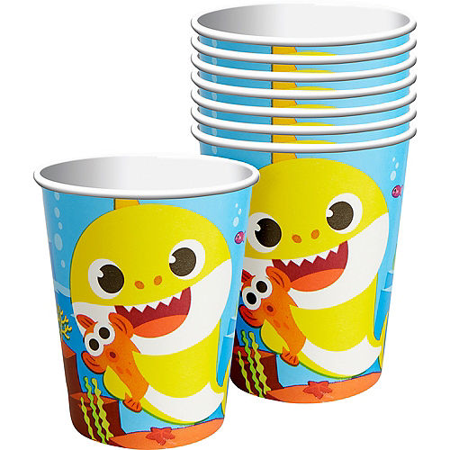 Baby Shark Cups 8ct Image #1