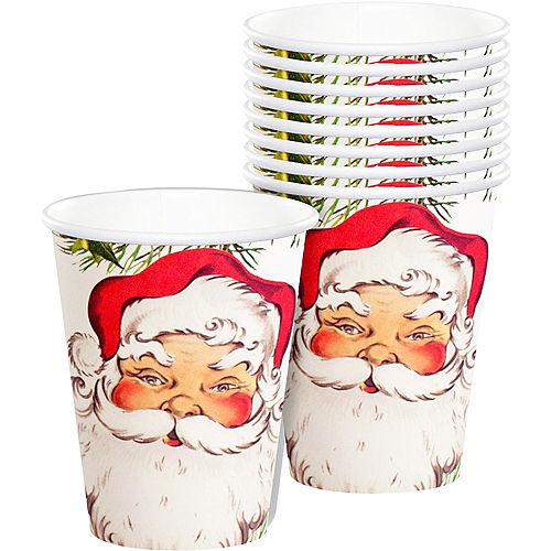 Botanical Santa Cups 12ct Image #1