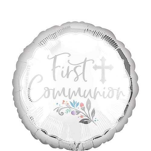 Holy Day First Communion Balloon, 17in Image #1