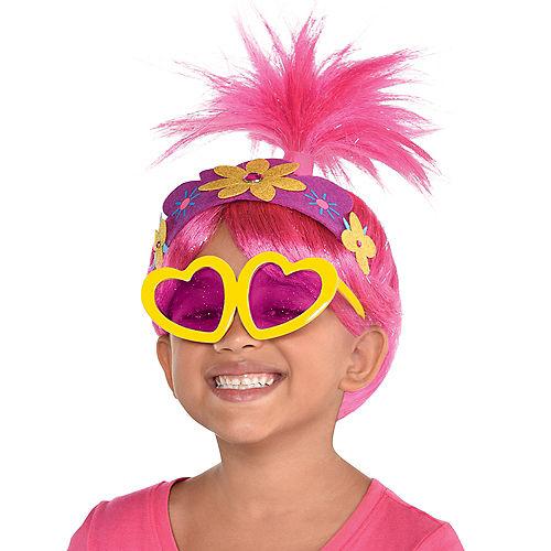 Child Queen Poppy Costume Accessory Kit - Trolls World Tour Image #1