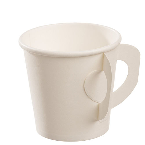 White Espresso Cups with Handles, 50ct Image #1