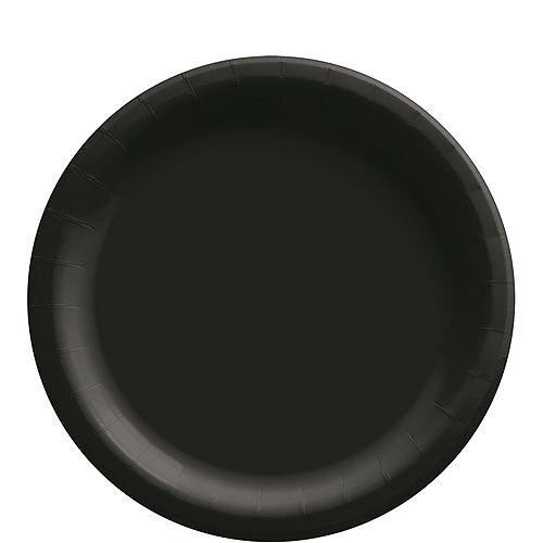 Black Tableware Kit for 20 Guests Image #3