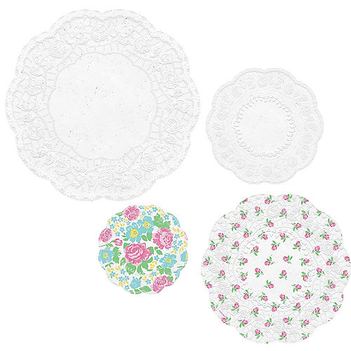 Tea Party Scalloped Doilies 40ct Image #1