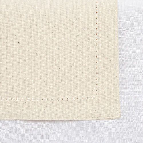 Cream Premium Fabric Table Runner Image #2