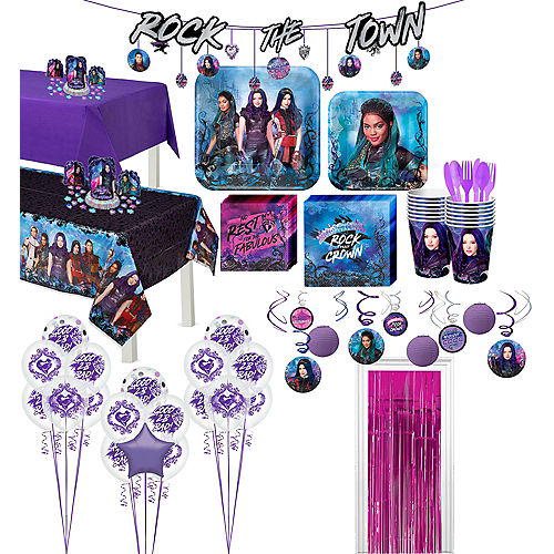 Super Descendants 3 Party Kit for 16 Guests Image #1