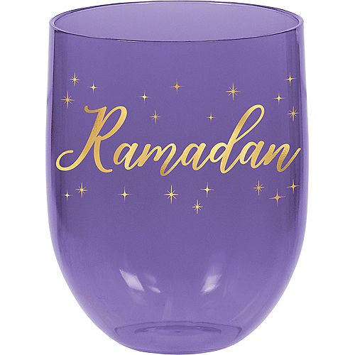 Ramadan Plastic Stemless Tumblers 4ct Image #2