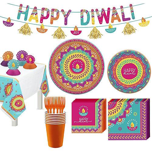 Diwali Tableware Kit for 8 Guests Image #1