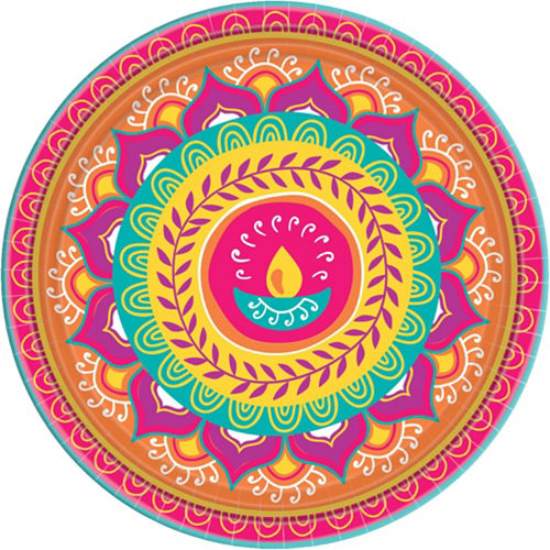 Diwali Tableware Kit for 8 Guests Image #9