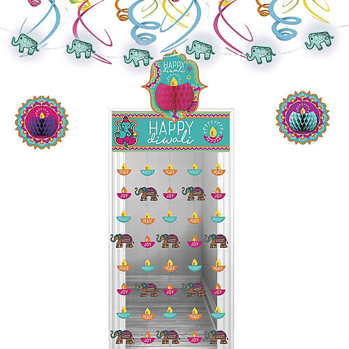 Diwali Door Decorating Kit Image #1
