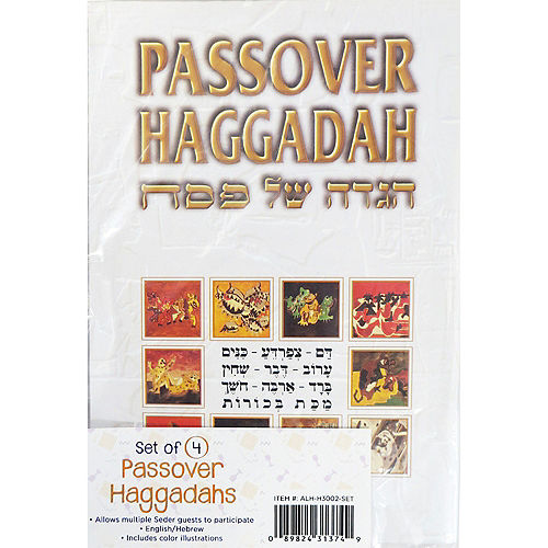 Passover Haggadah  Booklets 4ct Image #1