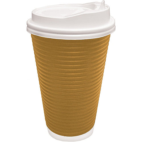 Corrugated Coffee Cups 8ct Image #1