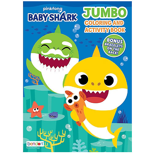 Baby Shark Jumbo Coloring & Activity Book Image #1