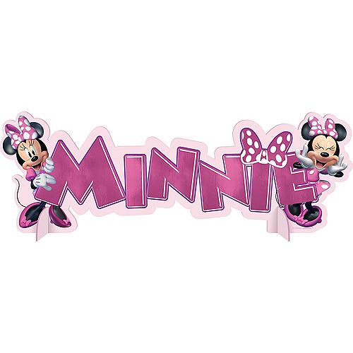 Minnie Mouse Forever Centerpiece Image #1