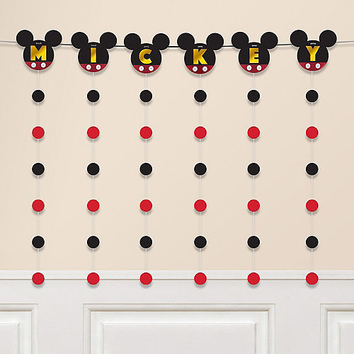 Mickey Mouse Forever String Garland Kit 7pc Image #1