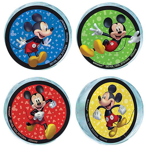 Mickey Mouse Forever Bounce Balls 4ct Image #1