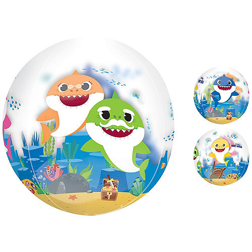Baby Shark Balloon - See Thru Orbz Image #1
