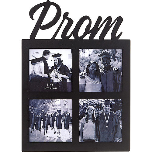 Black Prom Photo Collage Frame Image #1