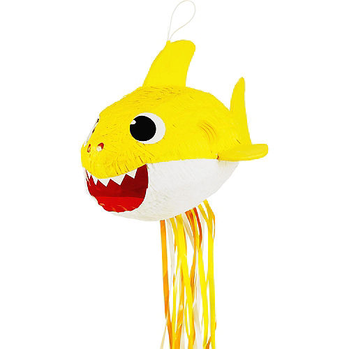 Pull String Baby Shark Pinata Image #1