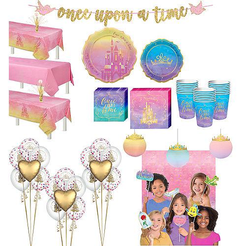 Ultimate Disney Princess Tableware Kit for 24 Guests Image #1