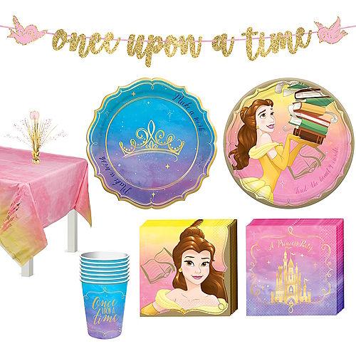 Disney Princess Belle Tableware Kit for 8 Guests Image #1