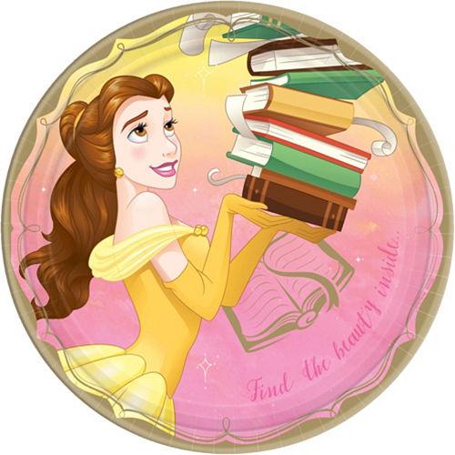 Disney Princess Belle Tableware Kit for 8 Guests Image #3