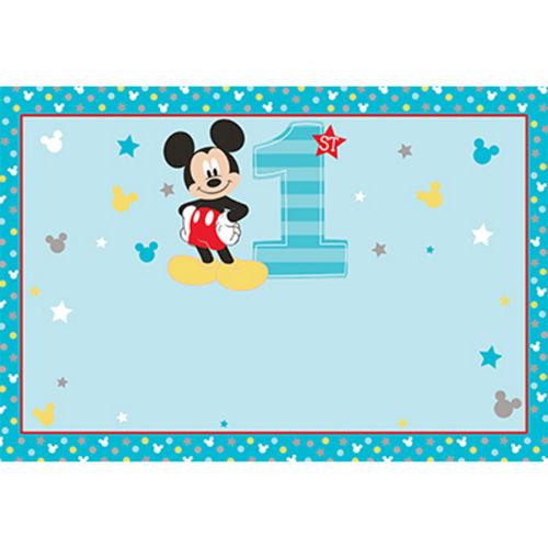 Custom Mickey's Fun to be 1 Yard Sign Image #1