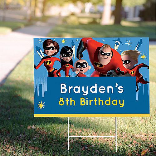 Custom Incredibles 2 Yard Sign Image #1