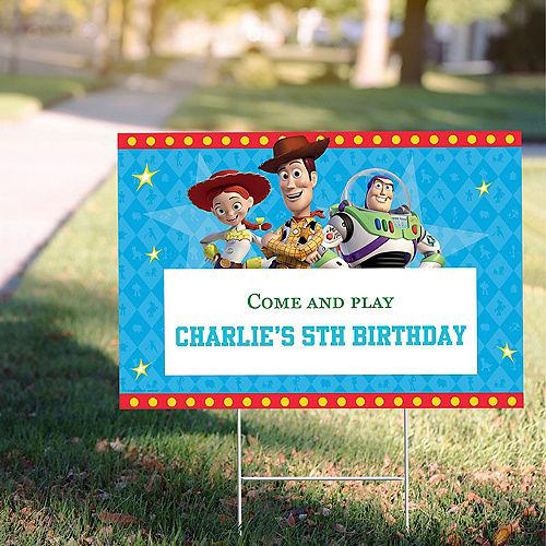 Custom Toy Story 4 Yard Sign Image #1