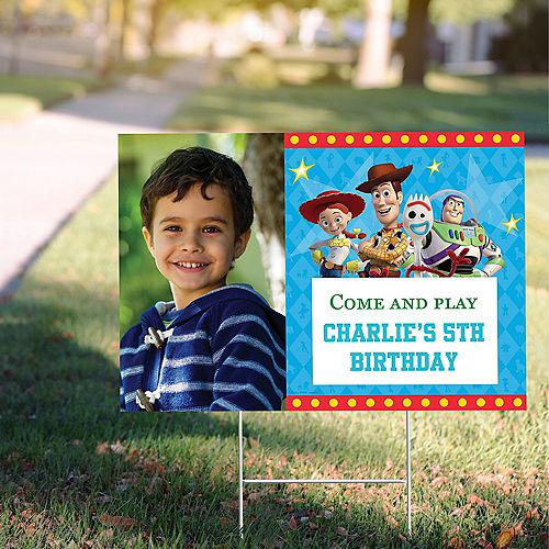 Custom Toy Story 4 Photo Yard Sign Image #1