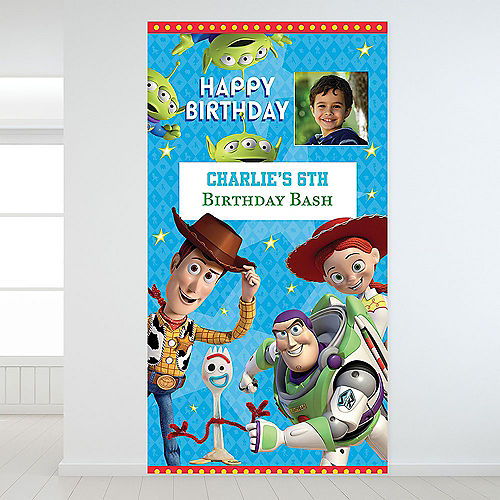 Custom Toy Story 4 Photo Backdrop Image #1