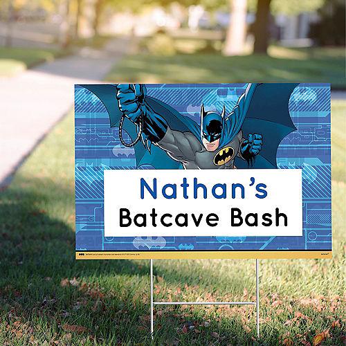 Custom Batman Yard Sign Image #1