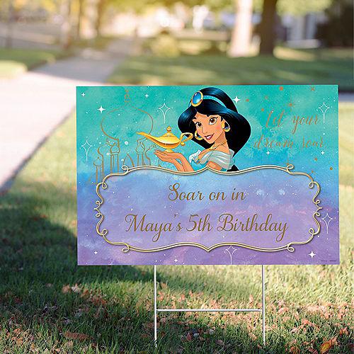 Custom Aladdin Jasmine Once Upon a Time Yard Sign Image #1