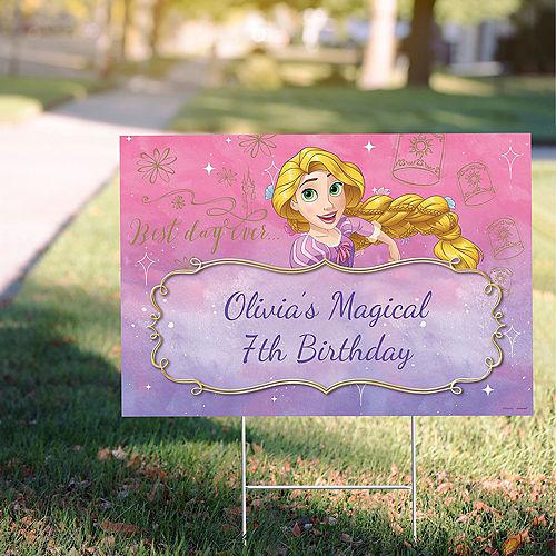 Custom Tangled Rapunzel Yard Sign Image #1