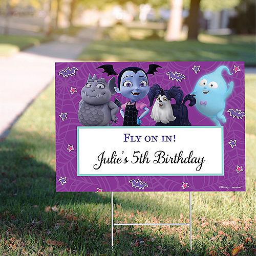 Custom Vampirina Yard Sign Image #1