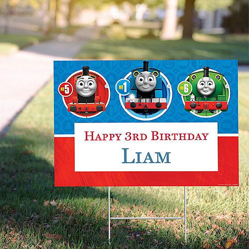 Custom Thomas the Tank Engine Yard Sign Image #1