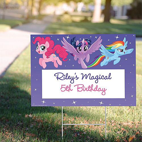 Custom My Little Pony Yard Sign Image #1