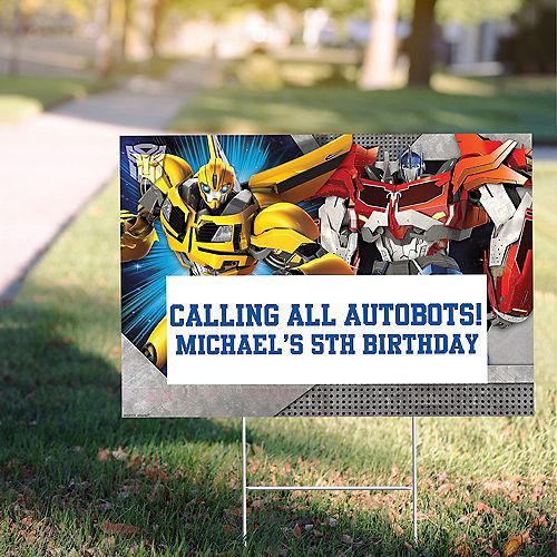 Custom Transformers Yard Sign Image #1
