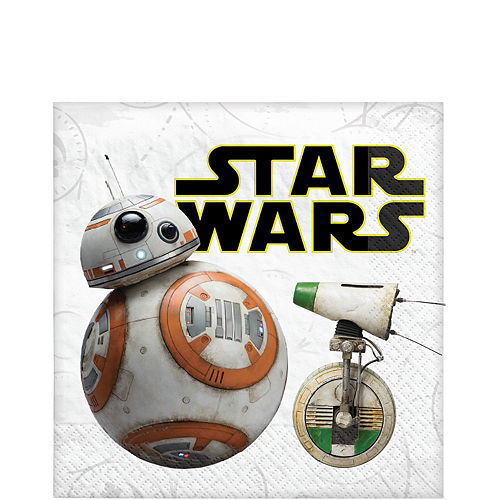 Star Wars 9 The Rise of Skywalker Lunch Napkins 16ct Image #1