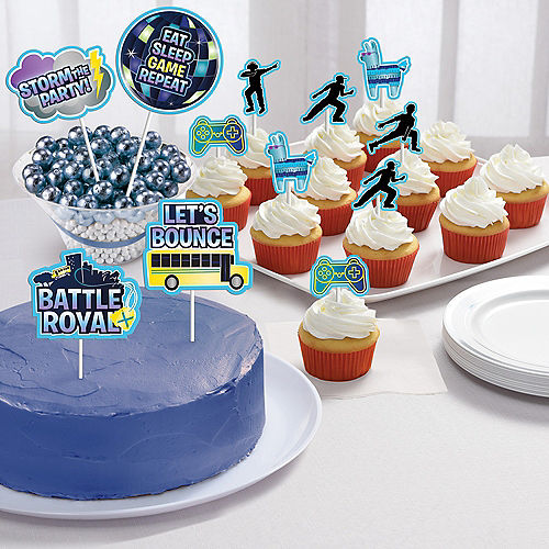 Battle Royal Cake Toppers 12ct Image #1