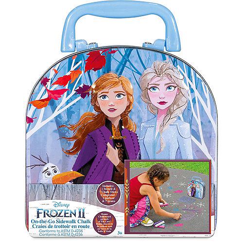 Frozen 2 On-The-Go! Sidewalk Chalk Set, 9pc Image #1