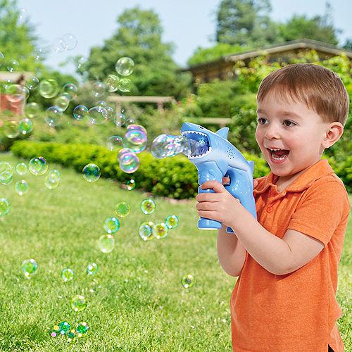 Light-Up Singing Fubbles® Shark Bubble Blaster Image #2