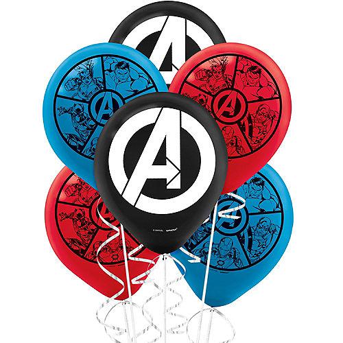 Marvel Powers Unite Balloons 6ct Image #1