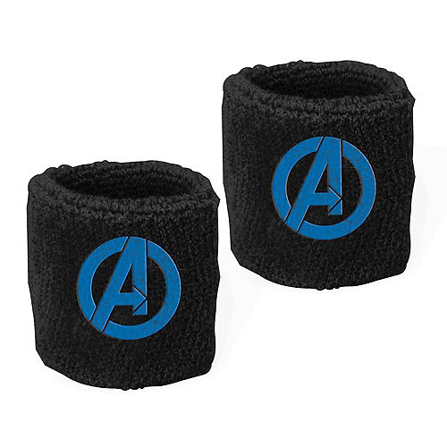 Marvel Powers Unite Sweat Bands 8ct Image #1